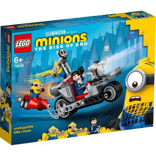 LEGO樂高迷你兵團系列 LEGO Minions Unstoppable Bike Chase 75549