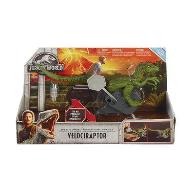 Jurassic World侏羅紀世界 恐龍重機人物發射組 隨機發貨