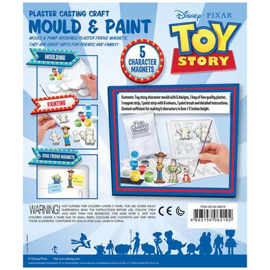 4M Disney Mould & Paint - Toy Story and Alien