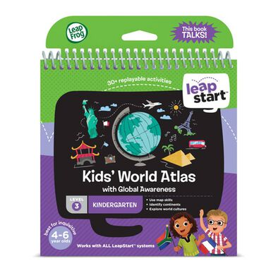Vtech偉易達-Level 3 - Kid's World Atlas