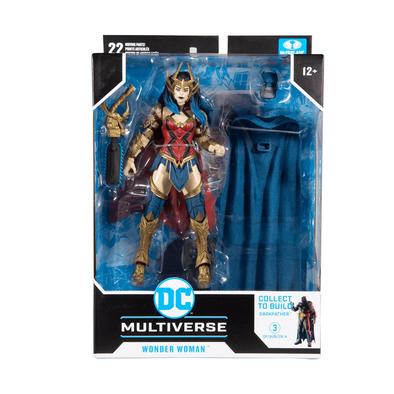 DC McFarlane Multiverse Build Darkfather Wonder Woman