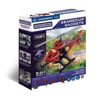 Gigo 科技積木 創新科技系列—創客工程 齒輪彈力組