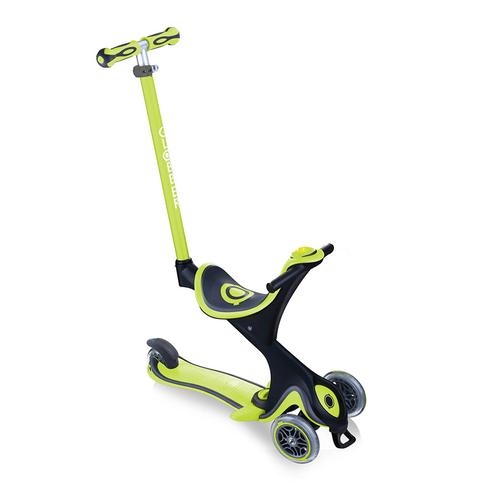 Globber高樂寶Go•Up Evo Comfort Play 多功能三輪滑板車 (綠色)
