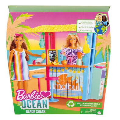 Barbie Loves The Ocean - Beach Shack Playset