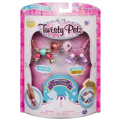 Twisty Petz寵物扭扭手鍊 3件裝 隨機發貨