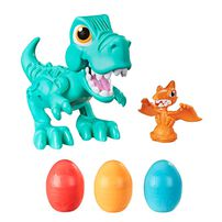 Play-Doh培樂多 恐龍部隊貪吃小暴龍