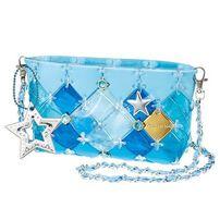 Beverly Pacherie 時尚巧拼包 - Diy水藍透明筆袋