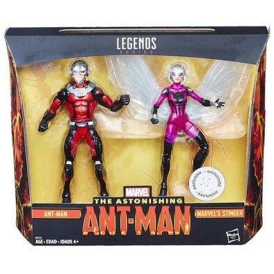 Marvel漫威 蟻俠6寸人型公仔兩件裝