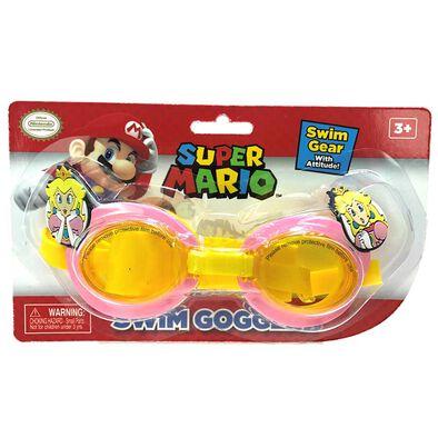 Nintendo任天堂碧姬公主游泳眼鏡