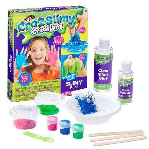 Cra-Z-Art Cra-Z-Slimy 鬼口水製作工具包 閃粉及螢光