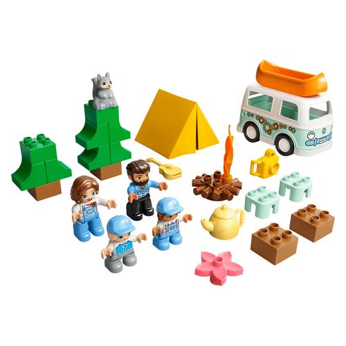 LEGO樂高得寶系列 家庭露營車冒險 10946