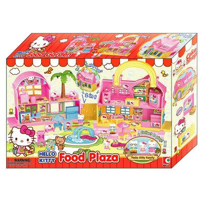 Sanrio三麗鷗 Hello Kitty迷你小鎮系列 - 二合一美食廣場 - 隨機發貨