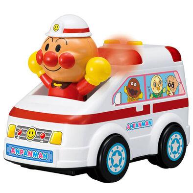 Anpanman麵包超人發聲玩具車-救護車