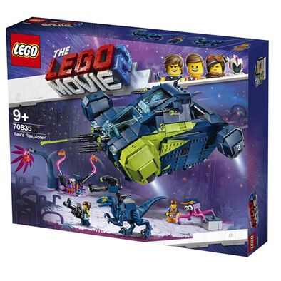 LEGO樂高大電影2系列rex's Rexplorer! 70835