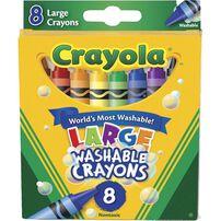 Crayola繪兒樂 8枝裝蠟筆