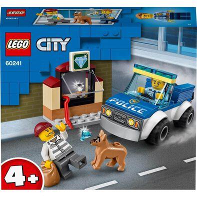 LEGO樂高城市系列 警犬部隊 60241