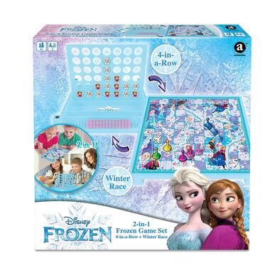 Disney Frozen迪士尼魔雪奇緣遊戲套裝 四子連環棋+冬季競賽
