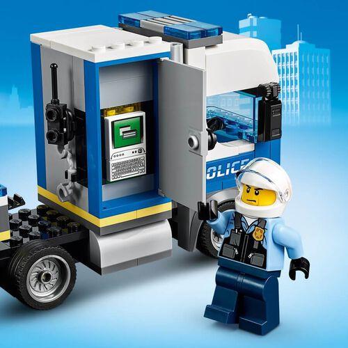 LEGO樂高城市系列 警用直升機運送車 60244