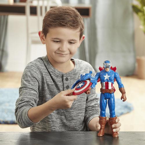 Marvel Avengers漫威復仇者聯盟 爆裂發射泰坦英雄 美國隊長