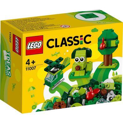 LEGO樂高經典系列 綠色創意顆粒 11007