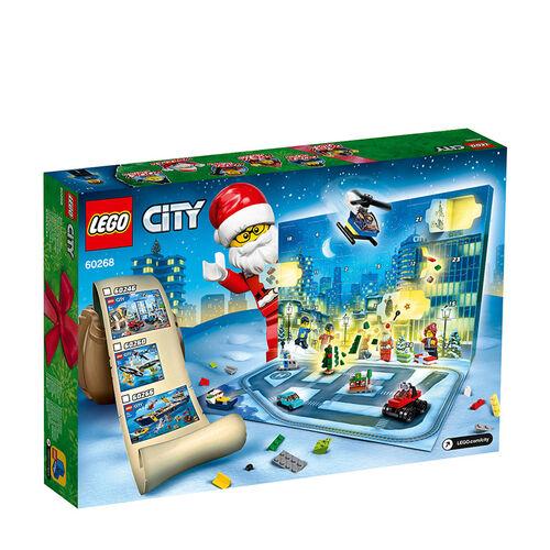 LEGO 樂高城市系列 Advent Calendar 60268