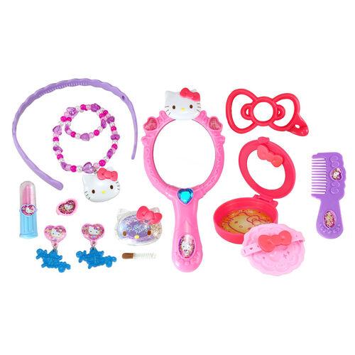 Hello Kitty吉蒂貓 化妝用具全套裝