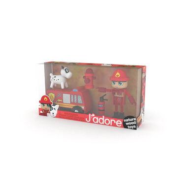 J'Adore 消防小人禮盒套