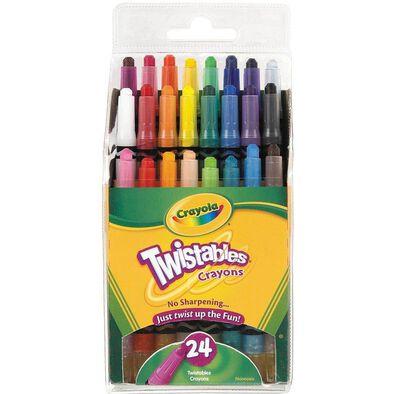 Crayola繪兒樂 24支扭扭蠟筆