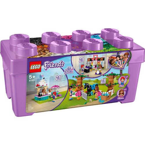 LEGO樂高好朋友系列 創意顆粒箱 41431