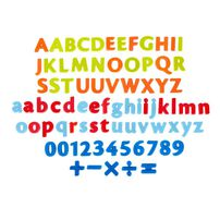 Grow'n Up 80pcs Magnetic Letter, Number & Signs