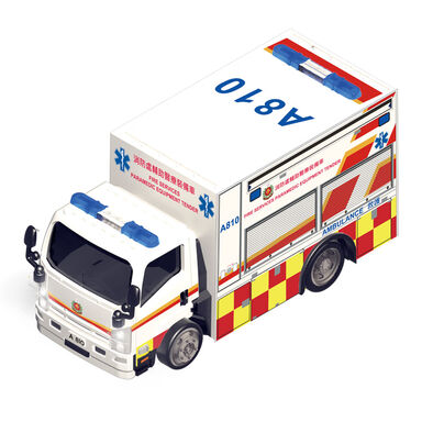 Konsept Mini 1:72 Rc Isuzu N Series - Hk Paramedic Equipment Tender