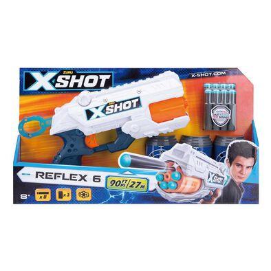 Zuru X Shot Reflex Revolver Tk 6 隨機發貨