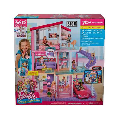 Barbie Dreamhouse Playset - Assorted