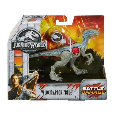 Jurassic World Battle Damage Dinosaur - Assorted