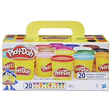 Play-Doh培樂多 超級顏色套裝(20色)
