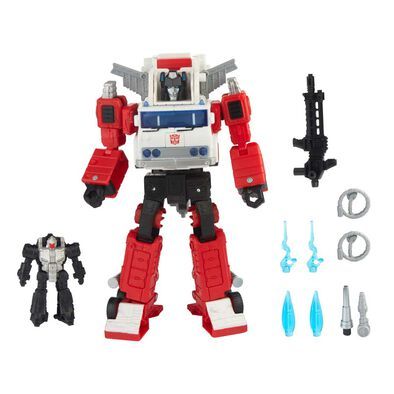 Transformers變形金剛Generations 系列 航行者 WFC-GS26 火流星和夜靈
