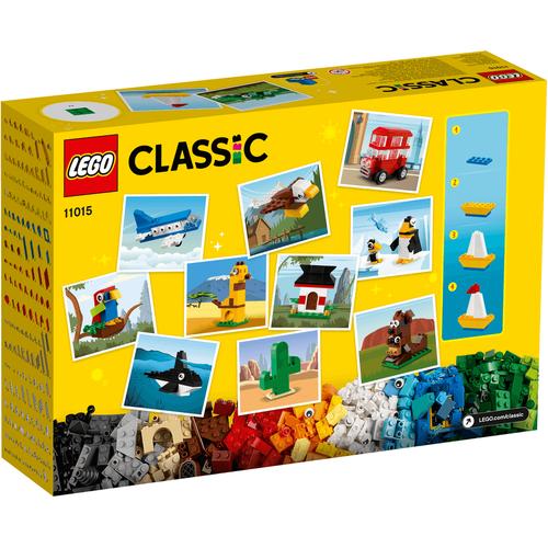 LEGO樂高經典系列 環遊世界 11015