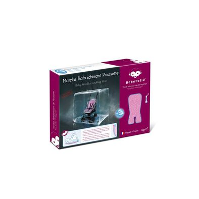 Bébéfolie 創新嬰兒車凝膠清涼墊 (粉紅色)