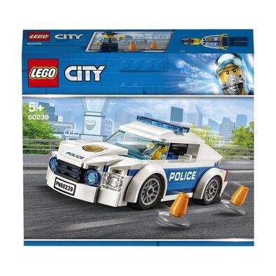 LEGO樂高城市系列警察巡邏車 60239