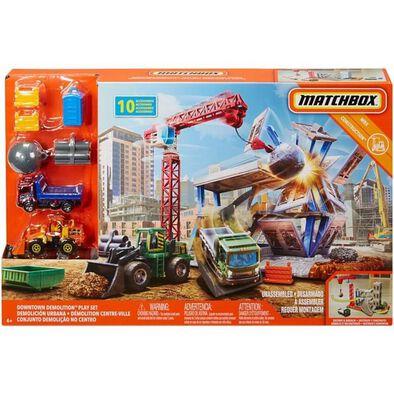 Matchbox火柴盒小汽車 市區拆遷玩具