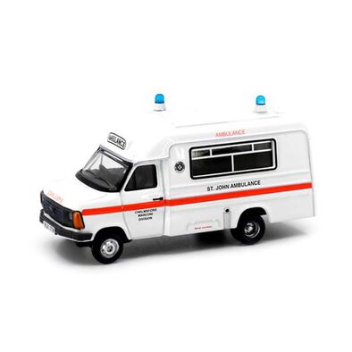 Tiny Uk18-1980'S St.John Ambulance In England