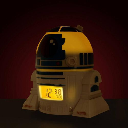 "Star Wars星球大戰r2D2時鐘(5.5"")"