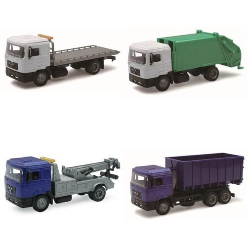 New Ray 1:43 Die Cast Man Vehicle 隨機發貨