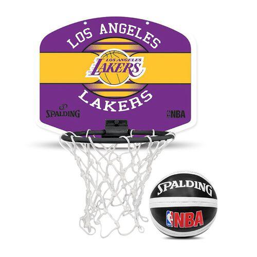 Spalding 洛杉磯湖人 小籃板