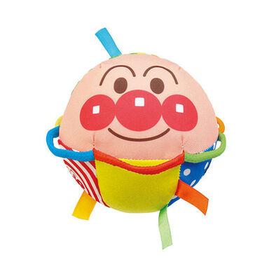 Anpanman麵包超人嬰兒手握圓布球 - 隨機發貨