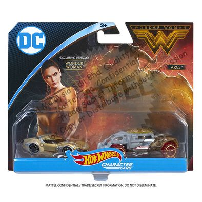 Hot Wheels風火輪 Wonder Woman Character Car 2 Pack