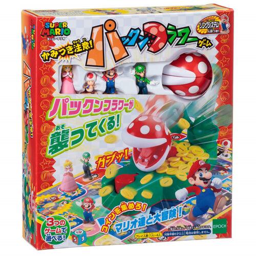 Epoch Games 瑪利歐食人花棋盤遊戲