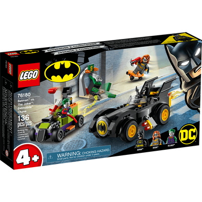 LEGO Super Heroes Batman Vs The Joker 76180