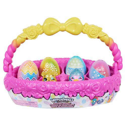 Hatchimals魔法寵物蛋 迷你魔法寵物蛋 復活節彩蛋籃 - 隨機發貨