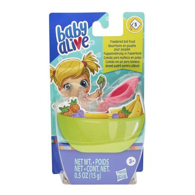 Baby AliveBB 小麗 玩偶粉狀食物補充裝